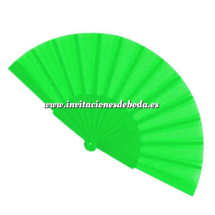 Imagen Abanico Económicos Abanico de tela Verde Pistacho (con varillas de plástico) (Últimas Unidades)