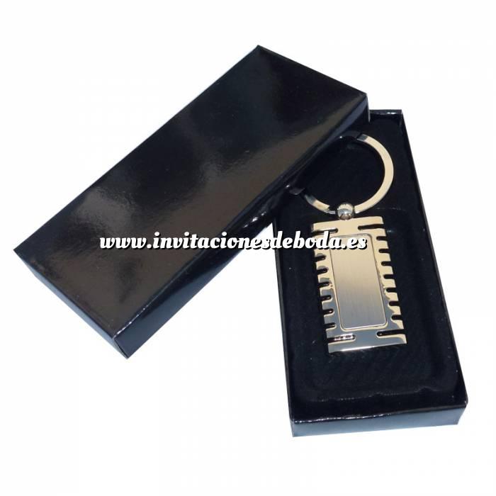 Imagen Para Hombre Llavero metal rectangular