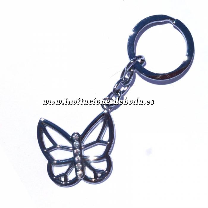 Imagen Prácticos mujer Llavero mariposa en caja modelo 2