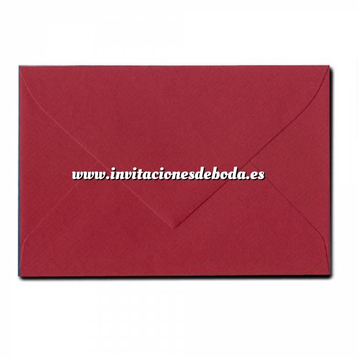 Imagen Sobres 11x8 Sobre Alicia Mod. 30/04 BURDEOS (VISITA) (Últimas Unidades)