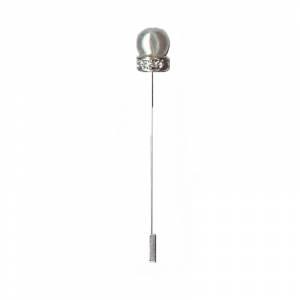Alfileres especiales - Alfiler Especial 16 (perla anillo cristal blanco) (Últimas Unidades)