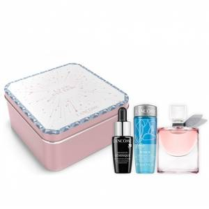 EDICIONES ESPECIALES - Set La vie est belle EDP by Lancome 4ml. más Advance Genifique 7ml más Bi-Facil 30ml EDICIÓN ESPECIAL (en cajita metálica) (Últimas Unidades)
