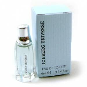 -Mini Perfumes Mujer - Iceberg Universe Eau de Toilette for Man 4ml. (Ideal Coleccionistas) (Últimas Unidades)