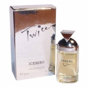 -Mini Perfumes Mujer - Twice Eau de Toilette by Iceberg 4,5ml. (IDEAL COLECCIONISTAS) (Últimas Unidades)