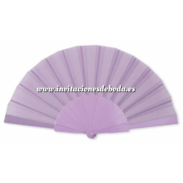 Imagen Abanico Económicos Abanico de tela Morado (con varillas de plástico) (Últimas Unidades)