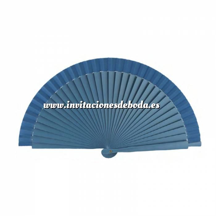 Imagen Abanico Liso 19 cm Abanicos Lisos 19 cm AZUL CELESTE (Últimas Unidades)-RE