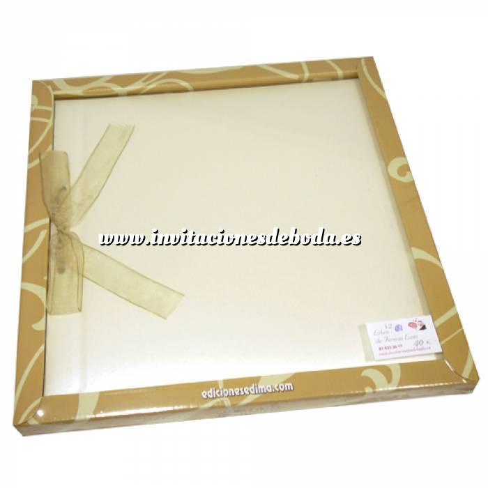 Imagen Álbumes Libro de Firmas LAZO 12 Nácar Clásico