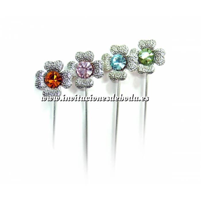 Imagen Alfileres especiales Alfiler Especial 80 (Trébol Cristal Colores)