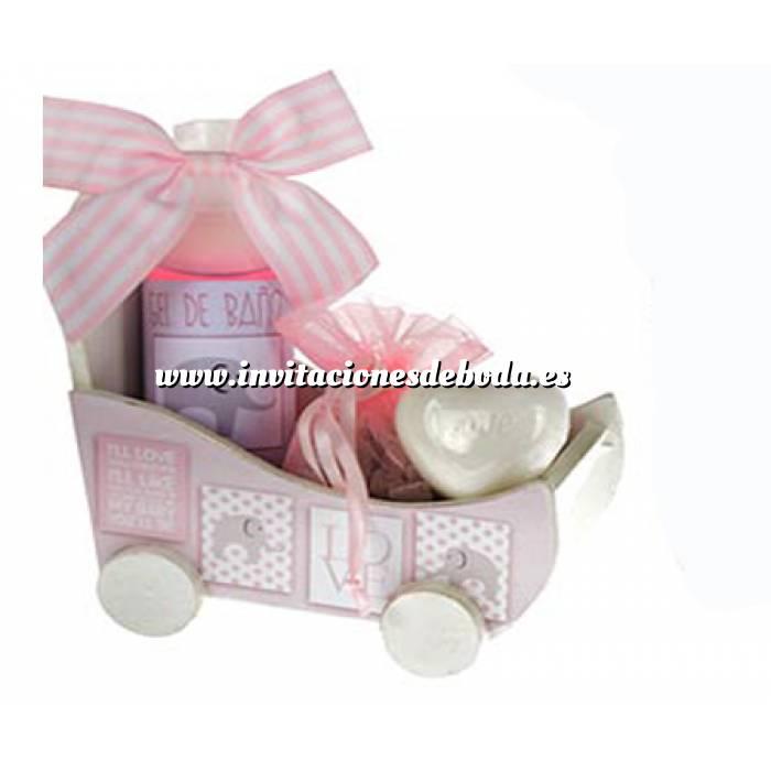 Imagen Baño y aromas Set de baño coche LOVE - SOLO COLOR ROSA (Últimas Unidades)