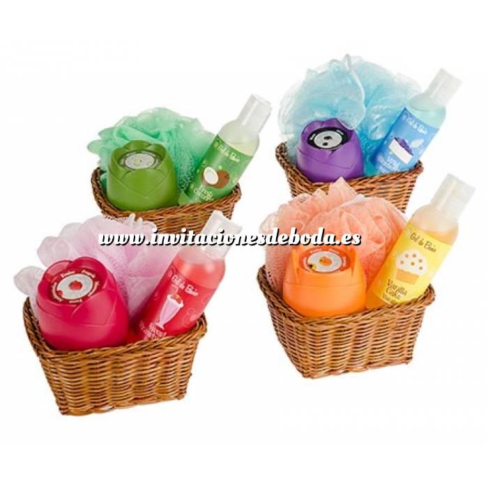 Set De Baño Para Fiestas: Para boda > Catálogo Baño y aromas > Set de baño en cesta de mimbre