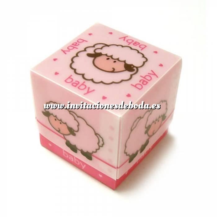 Imagen Cajitas para regalo Cajita Rosa Ovejita