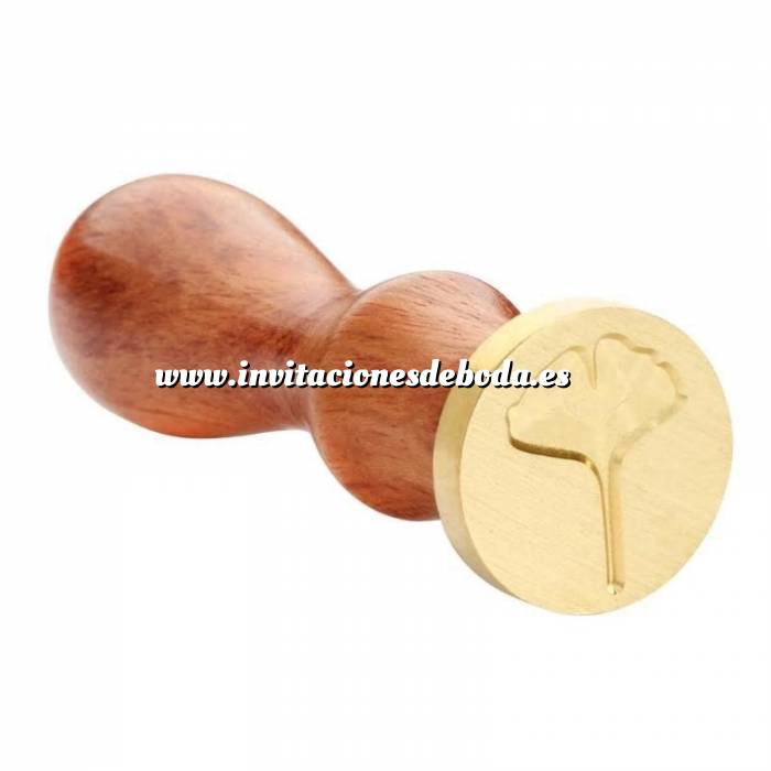 Imagen Diseños inmediatos Sello lacre mango largo - HOJAS - MOD 6(Últimas Unidades) (Últimas Unidades)