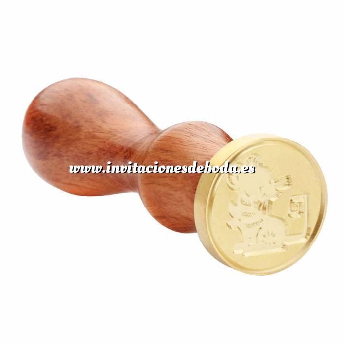 Imagen Diseños inmediatos Sello lacre mango largo - HOROSCOPO CHINO-Rata (Últimas Unidades)