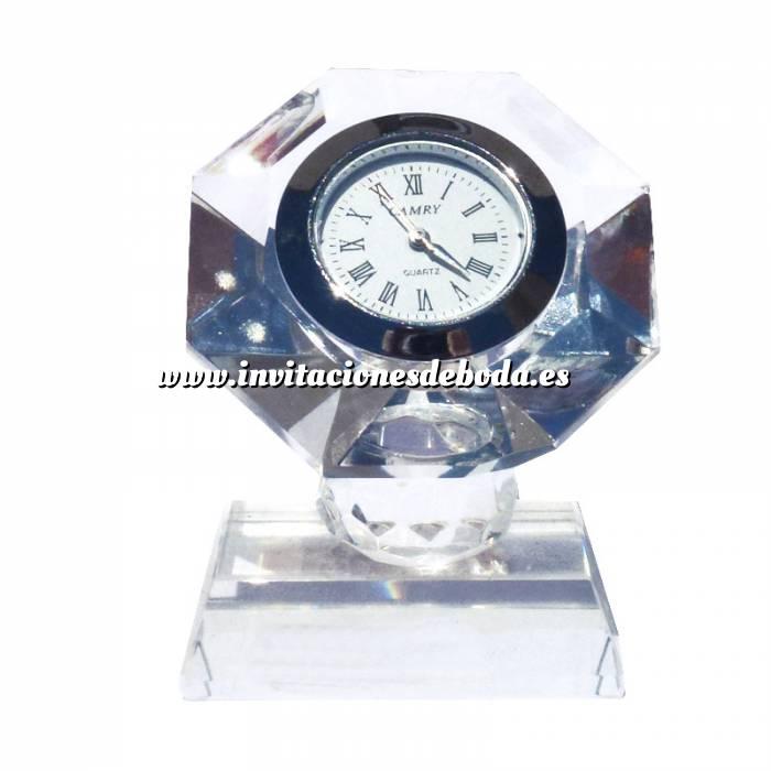 Imagen Marcos y decoración Reloj de cristal octógono