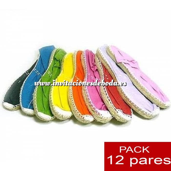 Imagen Mujer Cerradas Alpargatas cerradas Boda Surtidas en colores y tallas - caja de 12 pares