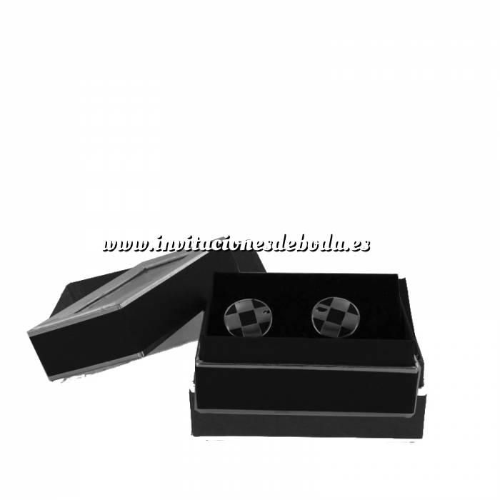 Imagen Para Hombre Gemelos Ref.08 en caja plateada forrada (Últimas Unidades)