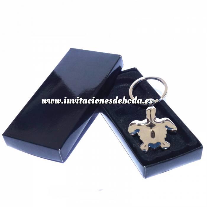 Imagen Prácticos mujer Llavero tortuga en caja