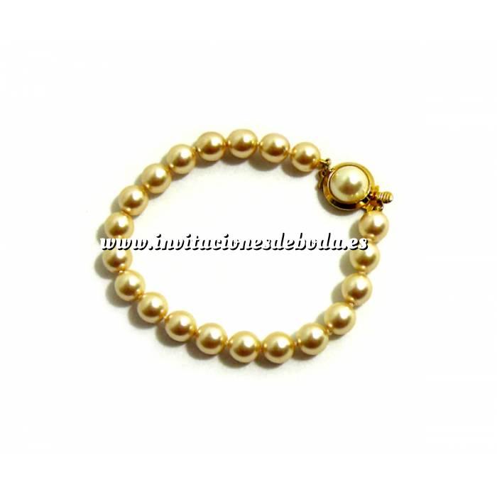 Imagen Prácticos mujer Pulsera perlas cultivadas
