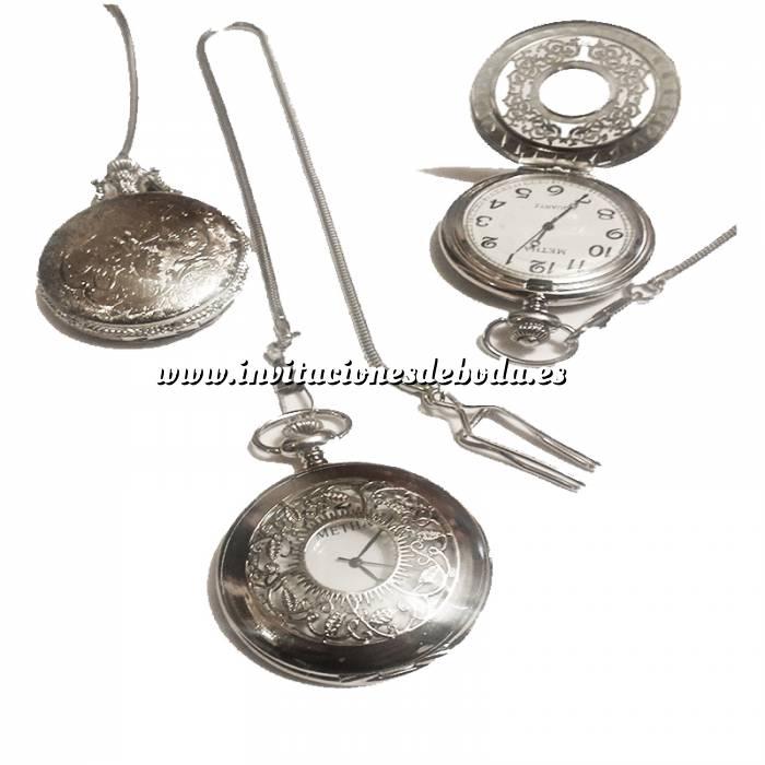 Imagen Relojes de Bolsillo Reloj de bolsillo - Grande - Repujado Hojas (Últimas Unidades)