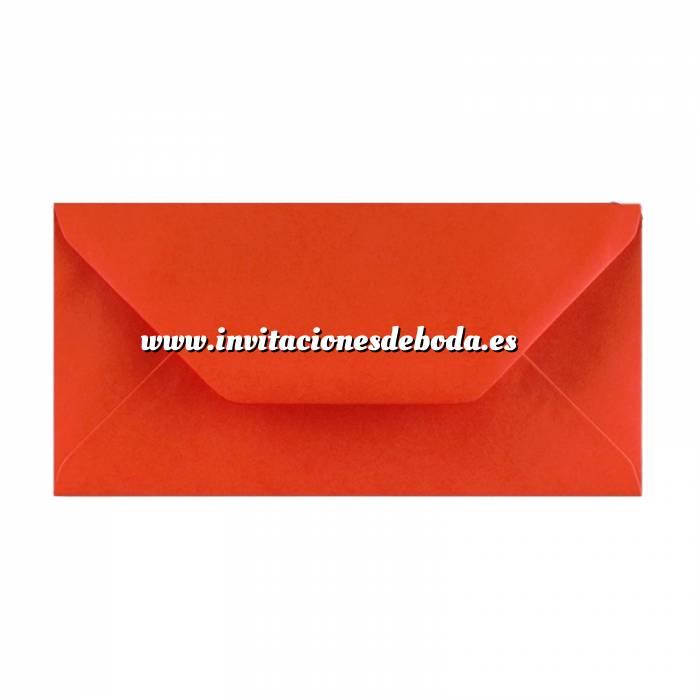 Imagen Sobre Americano DL 110x220 Sobre rojo DL (Rojo Amapola) (VAH32DL)