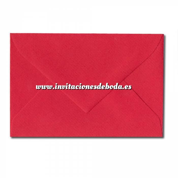 Imagen Sobres 11x8 Sobre Alicia Mod. 30/02 ROJO (VISITA) (Últimas Unidades)