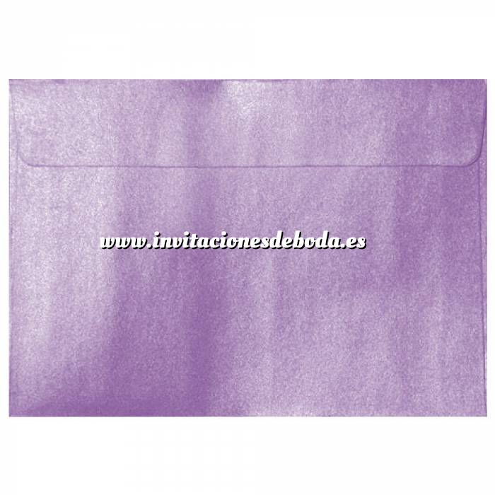Imagen Sobres C5 - 160x220 Sobre Perlado Lila c5 (Lavanda)