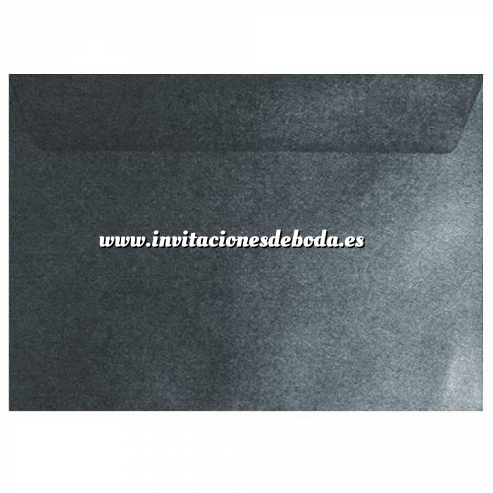 Imagen Sobres C5 - 160x220 Sobre textura negro c5