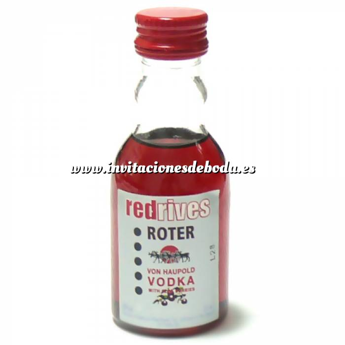 Imagen Vodka Vodka Red Rives 5cl