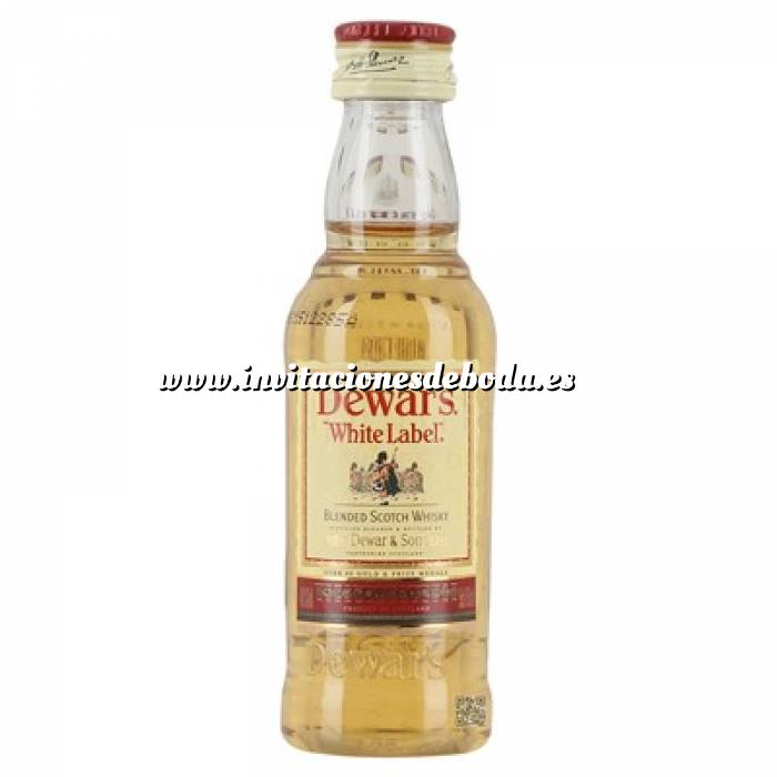 Imagen Whisky Whisky Dewar´s White Label 5cl (OFERTA TEMPORAL)