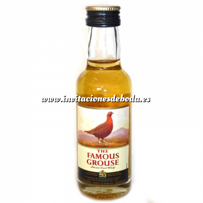 Imagen Whisky Whisky Famous Grouse 5cl