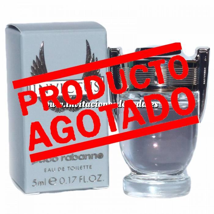 Imagen -Mini Perfumes Hombre Invictus Eau de Toilette by Paco Rabanne 5ml. (IDEAL COLECCIONISTAS) (Últimas Unidades)