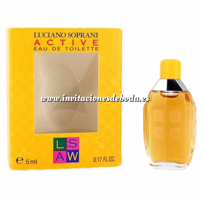 Imagen -Mini Perfumes Mujer Active Eau de Toilette by Luciano Soprani 5ml. (Últimas Unidades)