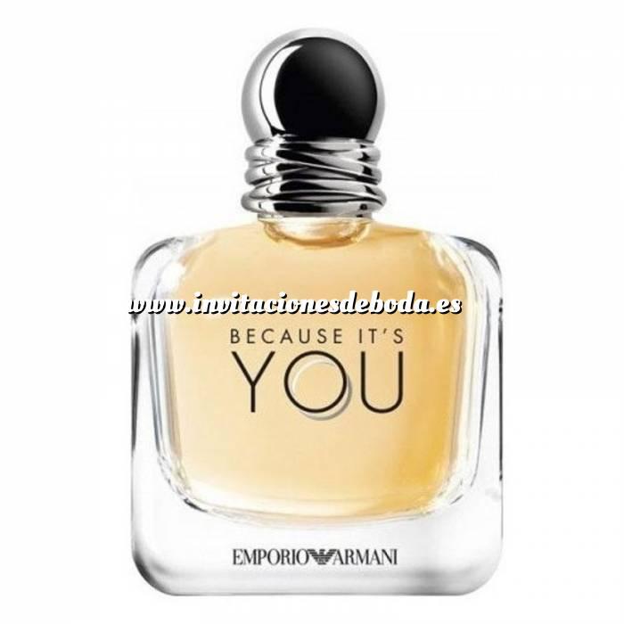Imagen -Mini Perfumes Mujer Because Its You 5ml - Emporio Armani - Caja blanca (Últimas Unidades)