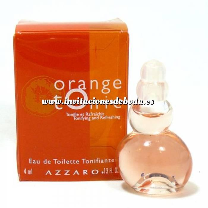 Imagen -Mini Perfumes Mujer Orange Tonic Eau de Toilette by Azzaro 4ml. (Especial para boda) (Últimas Unidades)
