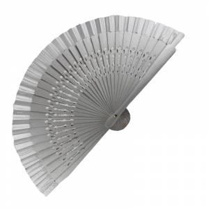 Abanico Calado 16 cm - Abanicos Calados 16 cm Gris Plata (Últimas Unidades)