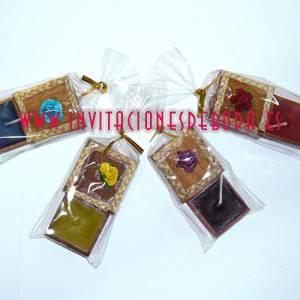 Baño y aromas - Caja madera con vela flor (Últimas Unidades)
