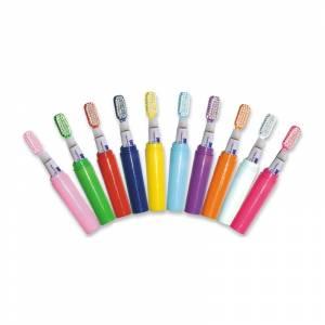 Imagen Baño y aromas Mini Cepillo de dientes ROJO con pasta incluida (Últimas Unidades)