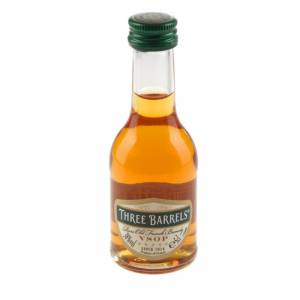 Brandy - Brandy Three Barrels VSOP 5cl.