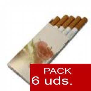 Detalles para la ceremonia - Cajetilla Tabaco Mod. 1. PACK 6 uds