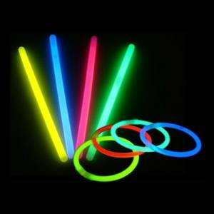 Detalles para la ceremonia - Pulseras Luminosas - Barritas Luminosas Fluorescentes Glow Sticks (Últimas Unidades)