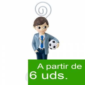 Detalles y libros de firmas Co - Portafotos Comunión Niño con pelota (Últimas Unidades)