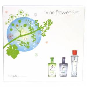Ginebra - set G vine + Espirit de June (2+1) 5cl - VINE FLOWER SET (Últimas Unidades)