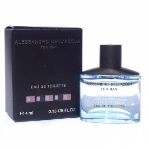 Mini Perfumes Hombre - Alessandro Dell Acqua Eau de Toilette For Man 4ml. (Últimas Unidades)