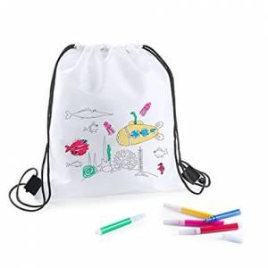 Niños - Mochila niños con lapices para colorear