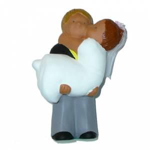 Novios tarta Clásicos - Figura Pastel Ella en brazos (Bubinots) (Últimas Unidades)