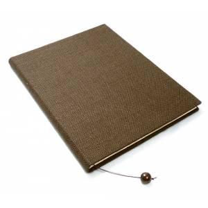 Rafia - Libro de firmas SACO marrón (Últimas Unidades)