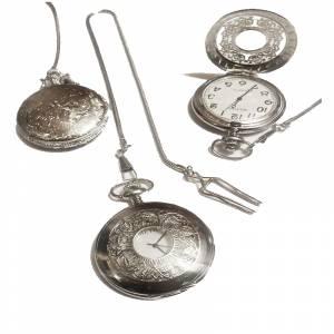 Relojes de Bolsillo - Reloj de bolsillo - Grande - Repujado Hojas (Últimas Unidades)