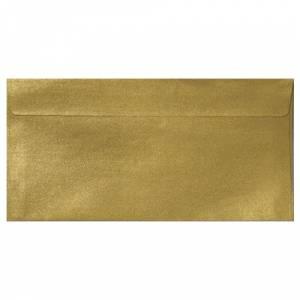 Sobre Americano DL 110x220 - Sobre Perlado Oro DL