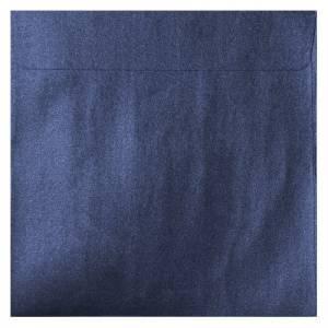 Sobres Cuadrados - Sobre Perlado azul Cuadrado (azul noche)