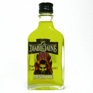Varios - Absenta Amarillo 80 - Le Diable Rouge 4cl